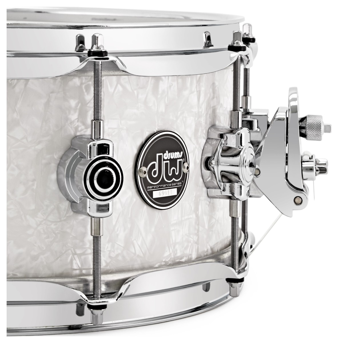 dw drums performance series 14 x 5 5 snare drum white marine at gear4music. Black Bedroom Furniture Sets. Home Design Ideas