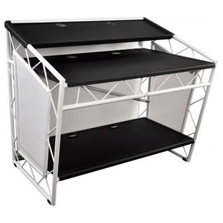 LiteConsole XPRS Aluminium Booth, White