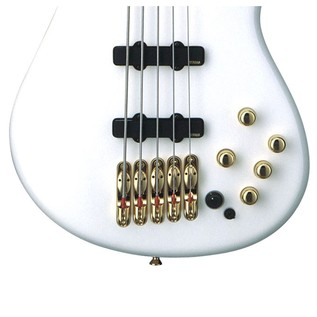 Yamaha BBNE2 Nathan East 5-String Bass Guitar, White