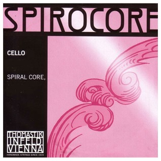 Thomastik Spirocore 4/4 - Strong*R Cello C String, Silver Wound