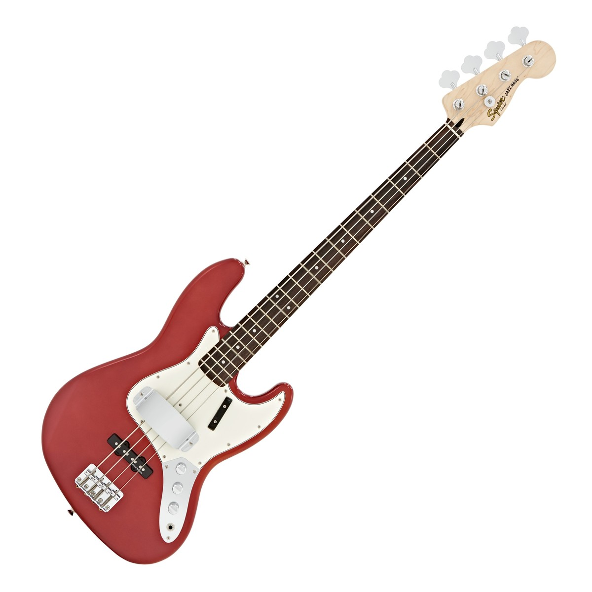 disc squier by fender vintage modified jazz bass red fsr at gear4music. Black Bedroom Furniture Sets. Home Design Ideas