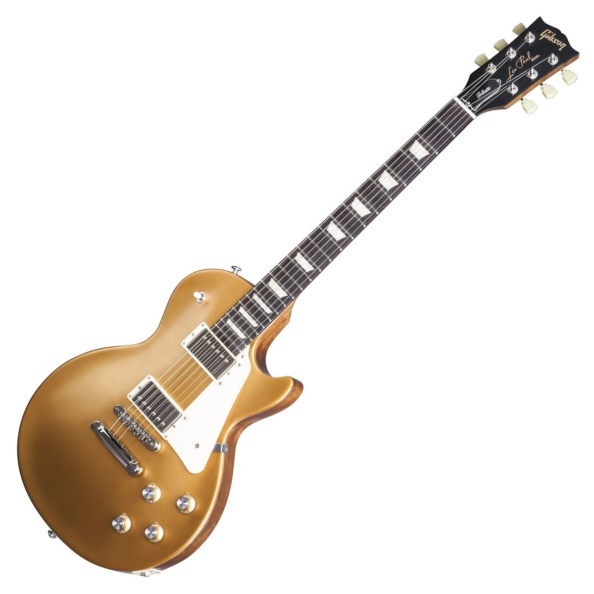 gibson les paul tribute t electric guitar satin gold top 2017 at