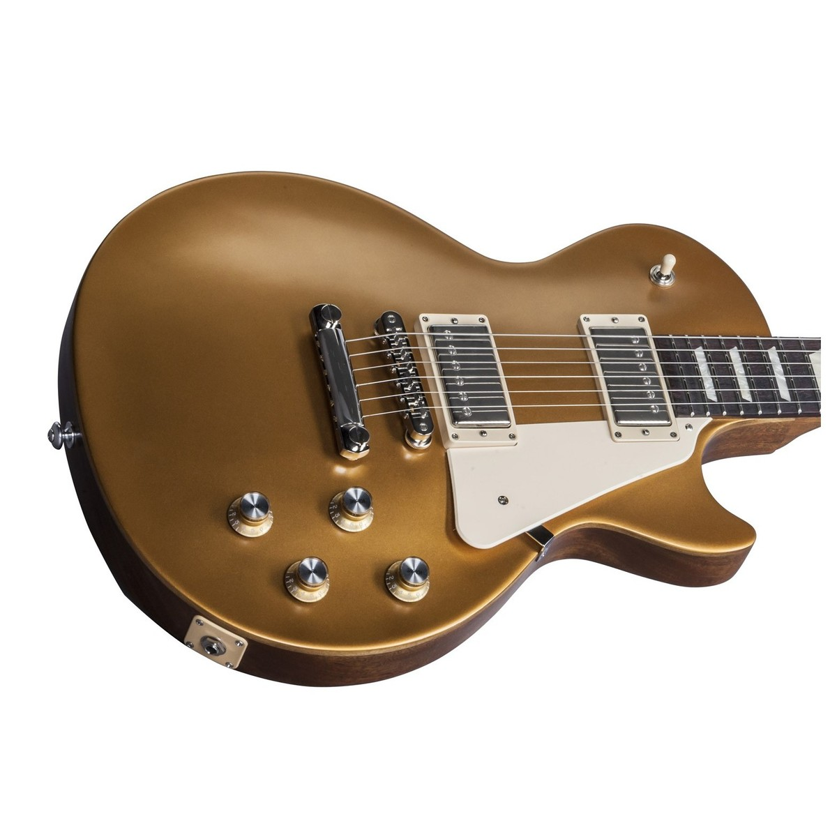 Disc gibson les paul tribute t electric guitar satin gold for Chitarra gibson les paul