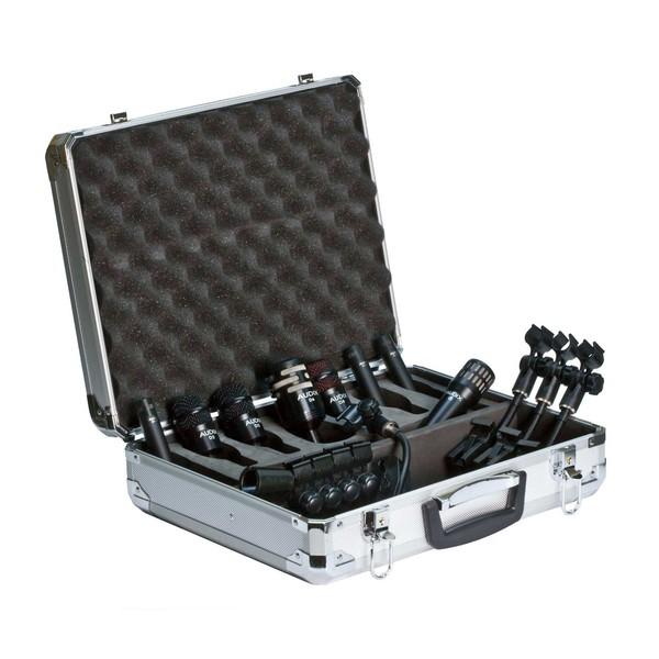 Audix DP Elite 8 Premium Percussion Microphone Pack, 8 Pieces