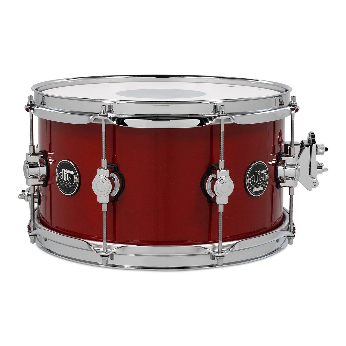 dw drums performance series 13 x 7 snare drum candy apple red at gear4music. Black Bedroom Furniture Sets. Home Design Ideas