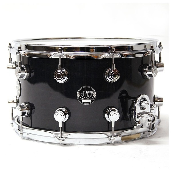 "DW Drums Performance Series 14"" x 8"" Snare Drum, Ebony Stain"