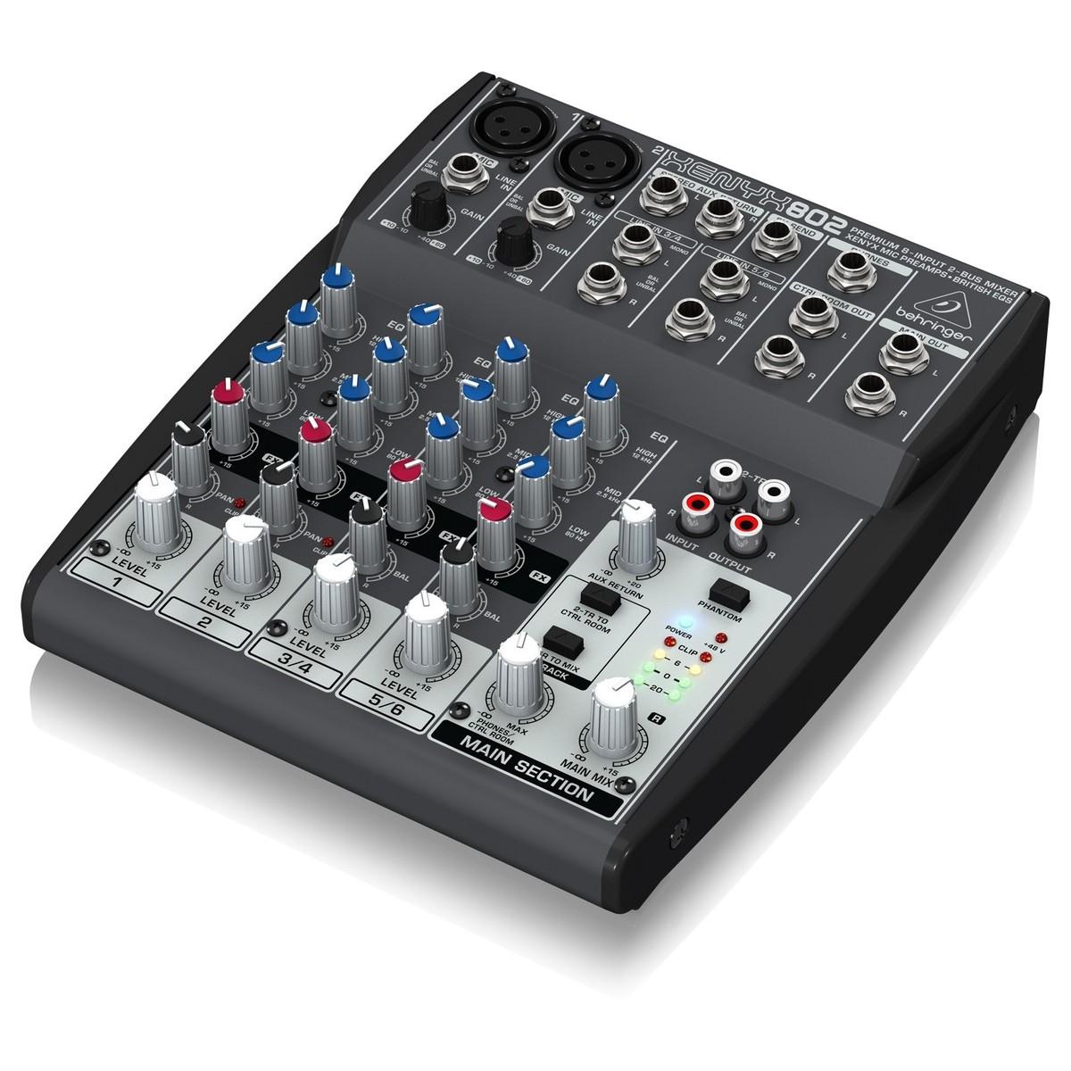 Behringer xenyx 802 mesa de mezclas en for Media markt mesa de mezclas