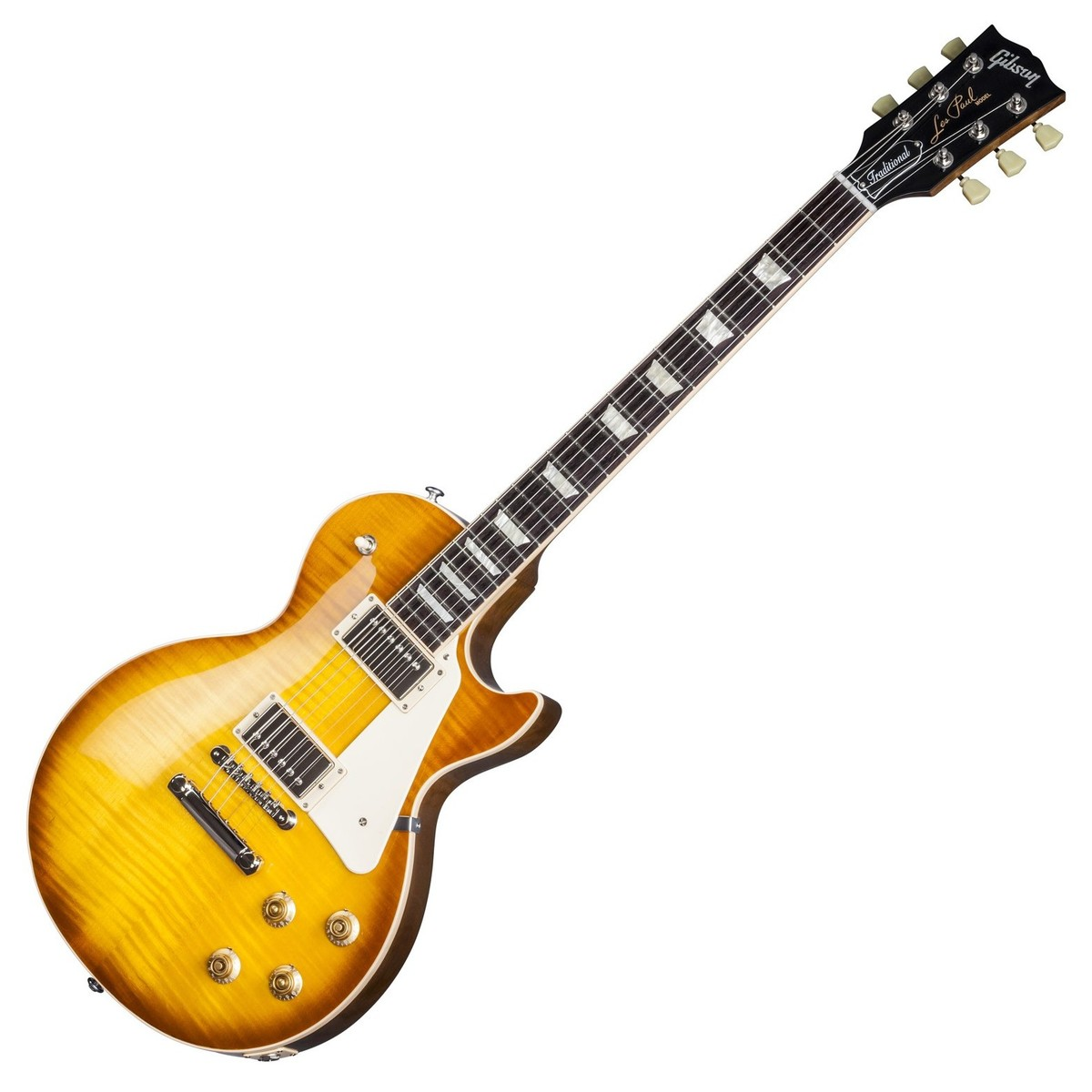 gibson les paul traditional t 2017 honey burst at. Black Bedroom Furniture Sets. Home Design Ideas