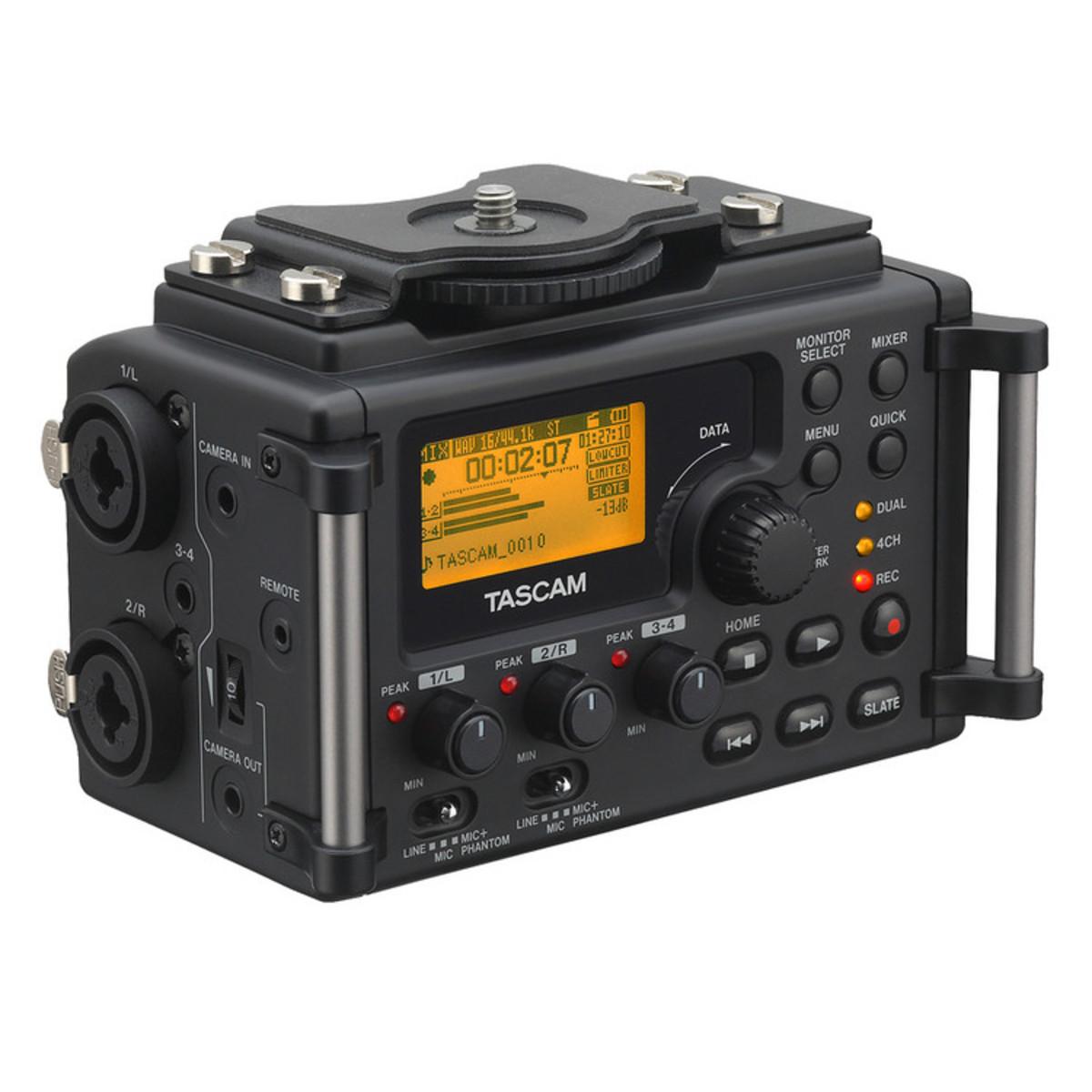 Tascam dr 60d audio recorder per l 39 uso con dslr b - Dive recorder results ...