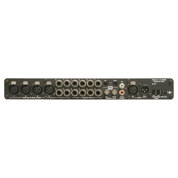 Metric Halo 2882 Firewire Interface with 2D Expansion - Rear
