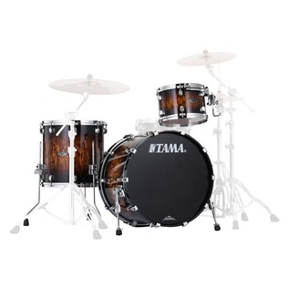 Tama Starclassic Performer B/B 3Pc Shell Pack, Molten Brown Burst