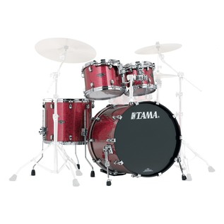 Tama Starclassic Performer B/B 4 Piece Shell Pack, Coral Red Sparkle