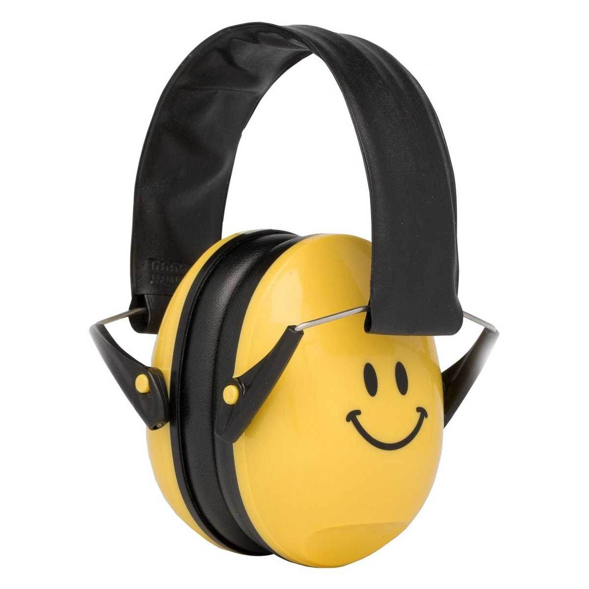 Alpine Muffy Ear Defenders For Kids, Yellow Smiley