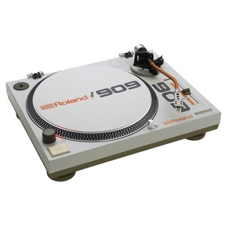 Roland TT-99 Direct Drive Turntable - Angled