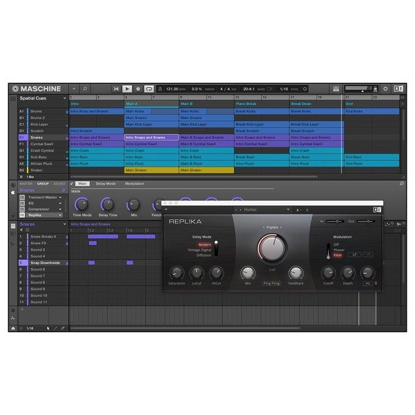 Native Instruments Maschine Jam - Sreenshot 2 (Replika)