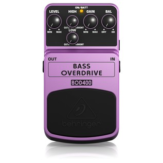 Behringer BOD400 Bass Distortion Pedal