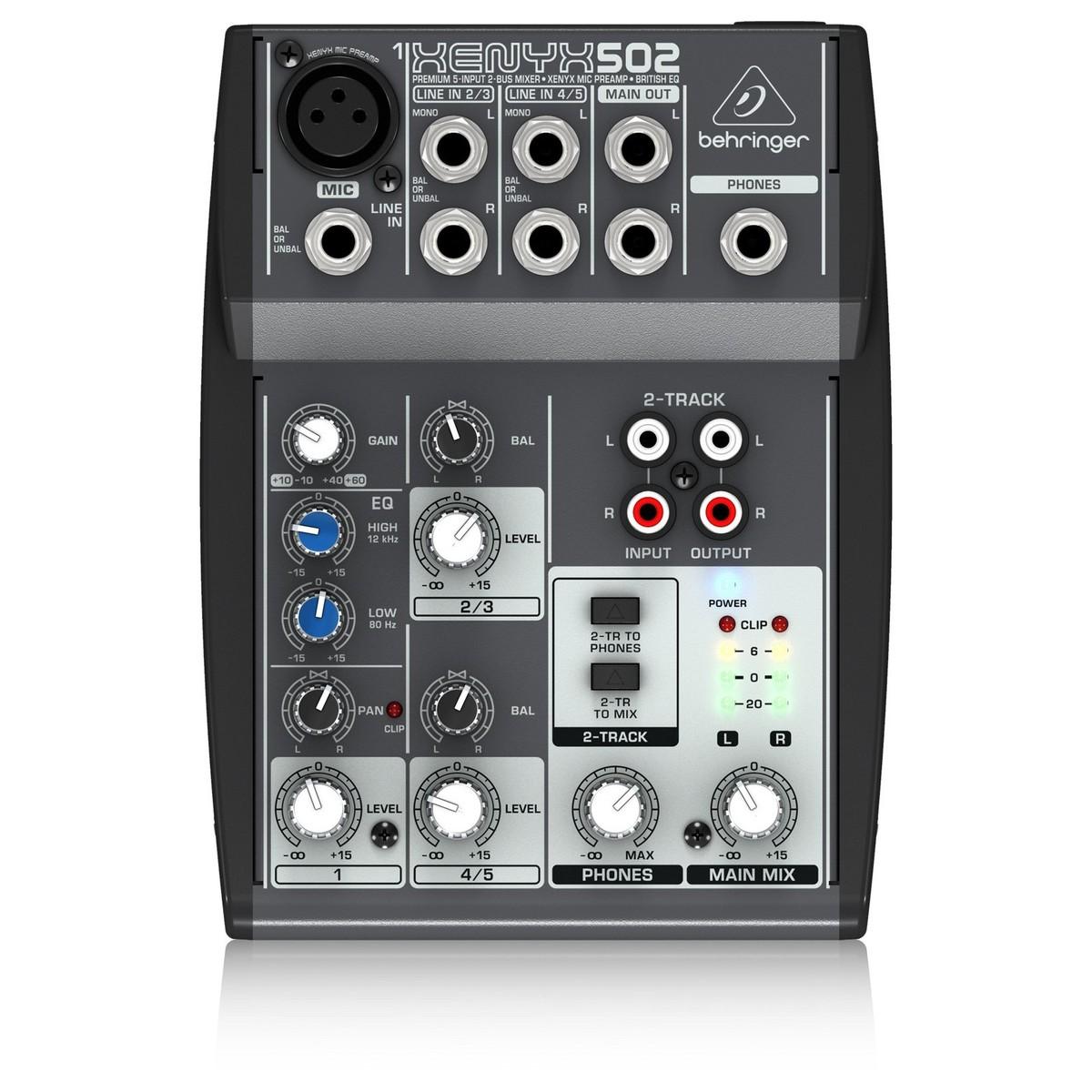 behringer xenyx 502 mixer at gear4music. Black Bedroom Furniture Sets. Home Design Ideas