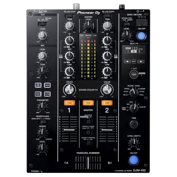 Pioneer DJM-450 DJ Mixer - Top