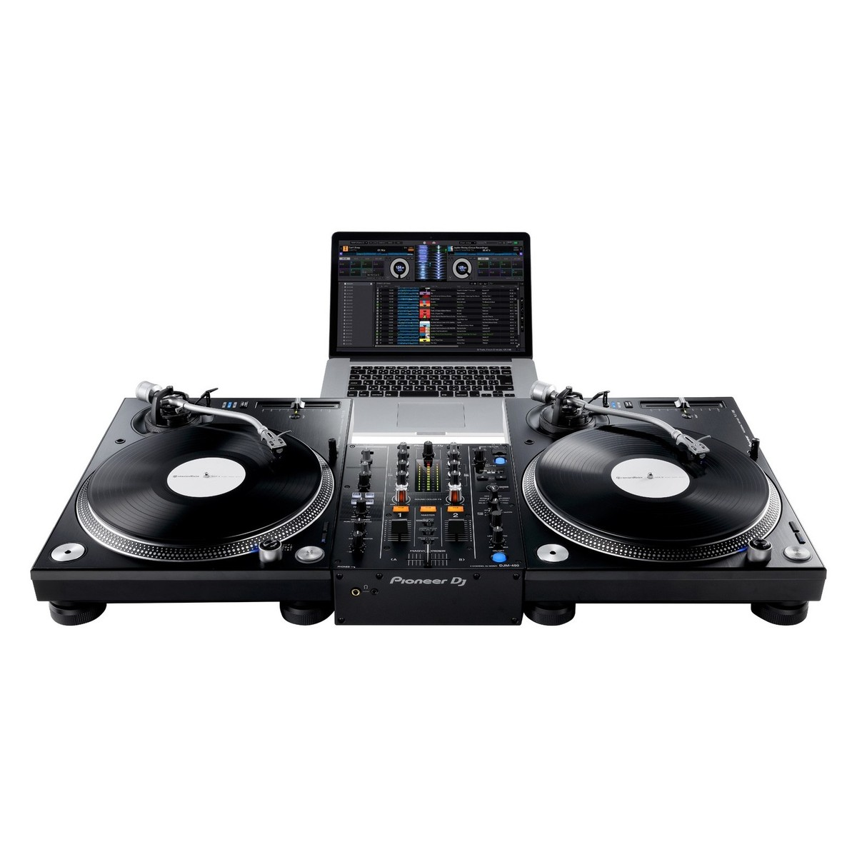 Pioneer djm 450 dj mixer at - Mesa dj pioneer ...