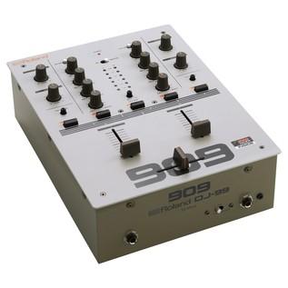 Roland DJ-99 DJ Scratch Mixer - Angled
