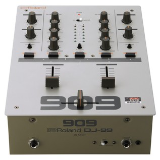 Roland DJ-99 DJ Scratch Mixer - Top Down Bottom