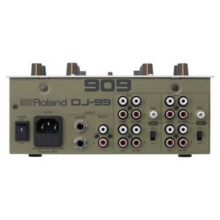 Roland DJ-99 DJ Scratch Mixer - Rear