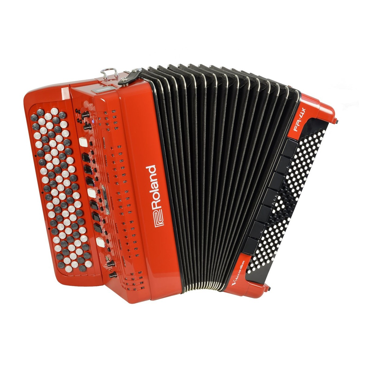 f258abad6aedb Roland FR-4XB V-Accordion with Buttons, Red