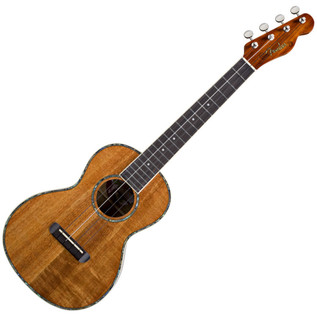 Fender Ukulele Nohea All Koa Tenor Ukulele, Natural
