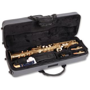 Odyssey OSS600 Premiere Bb Straight Soprano Saxophone Case