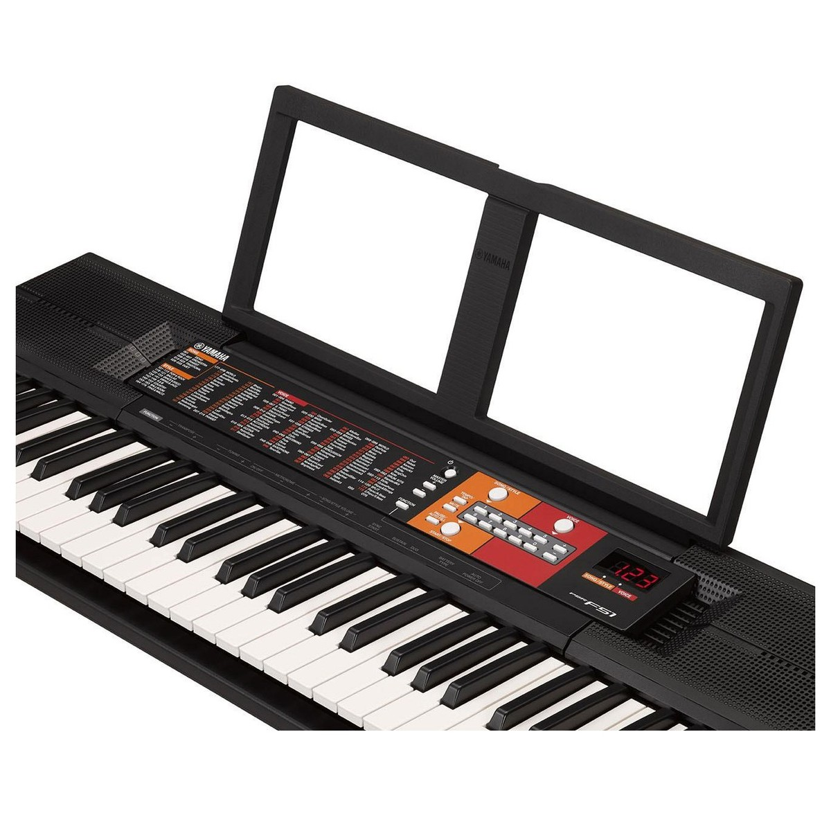 yamaha psr f51 portable keyboard x frame package at gear4music. Black Bedroom Furniture Sets. Home Design Ideas