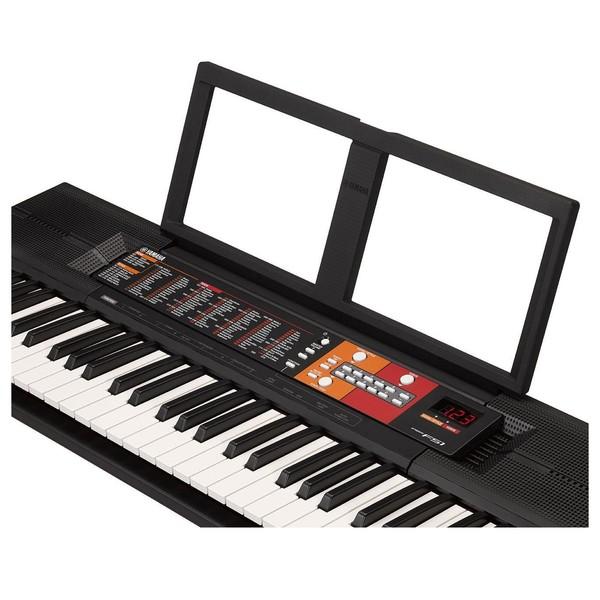 Yamaha PSR-F51 Music Rest