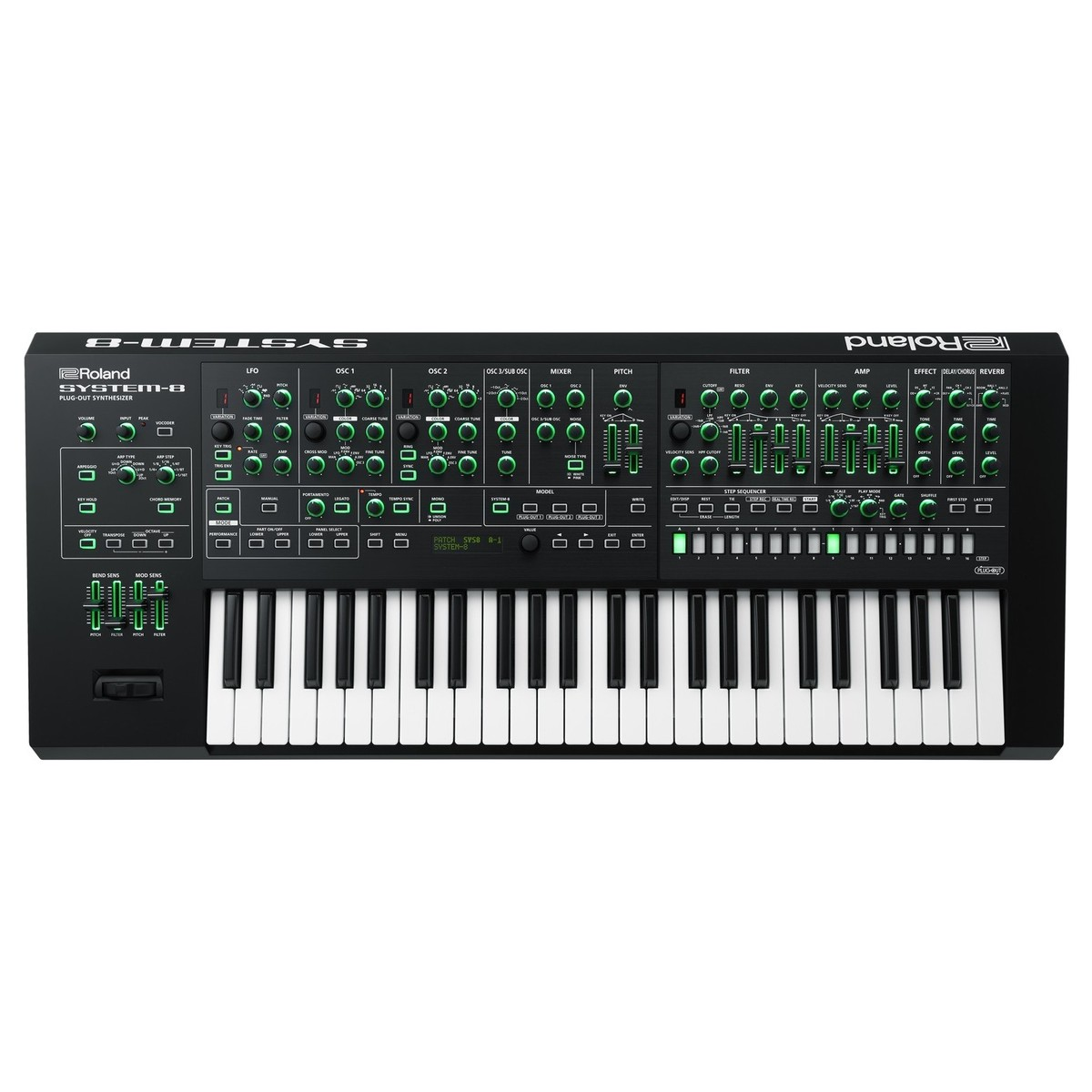 Click to view product details and reviews for Roland System 8 Aira Plug Out Synthesizer.