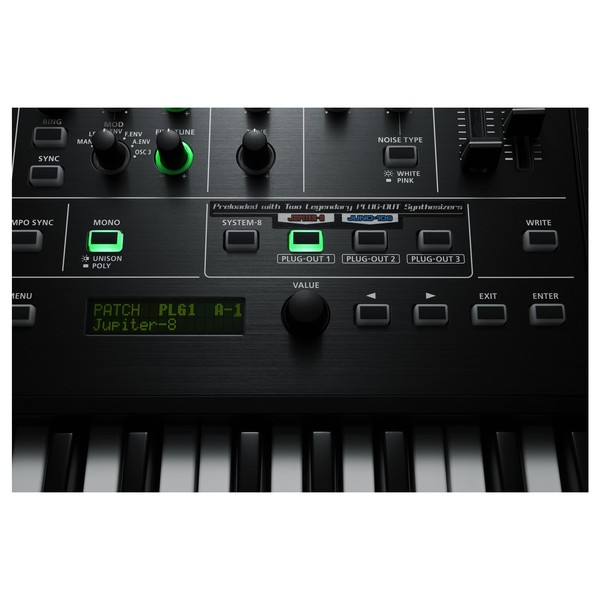 Roland System 8 AIRA Plug Out Synthesizer - Close Up Detail