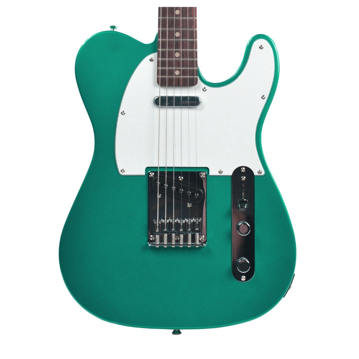 squier by fender affinity telecaster race green at. Black Bedroom Furniture Sets. Home Design Ideas