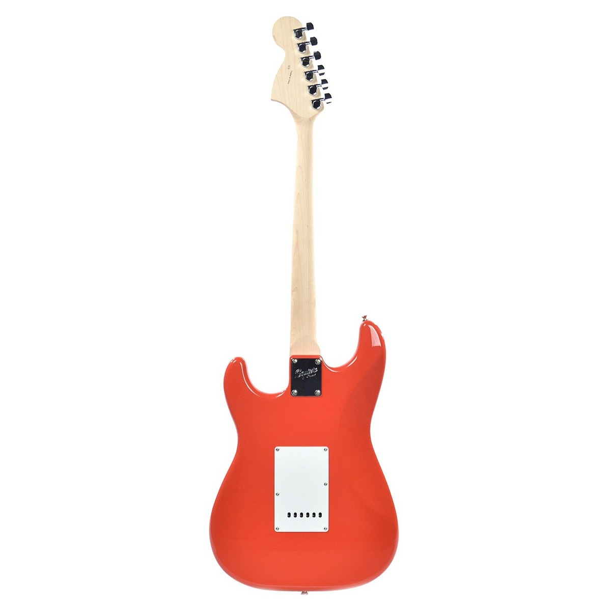 Squier By Fender Affinity Stratocaster Race Red At Gear4music Behringer Strat Squire Wire Diagram Loading Zoom