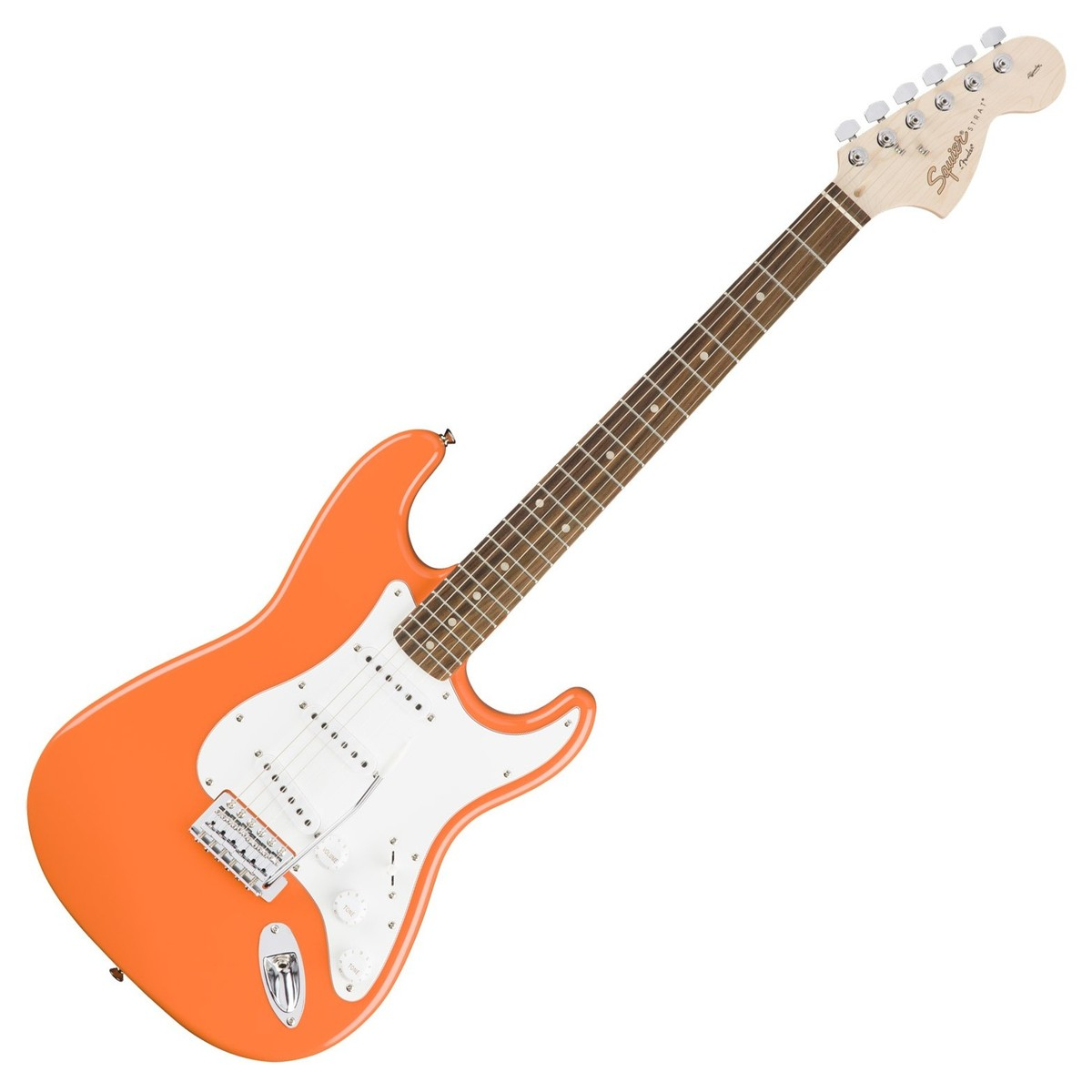 squier by fender affinity stratocaster competition orange at gear4music. Black Bedroom Furniture Sets. Home Design Ideas