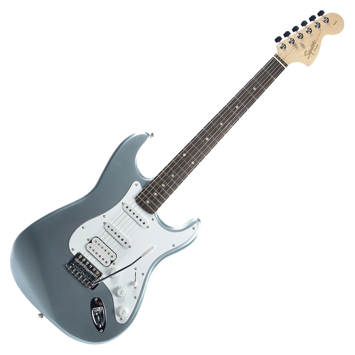 squier by fender affinity stratocaster hss slick silver at gear4music. Black Bedroom Furniture Sets. Home Design Ideas