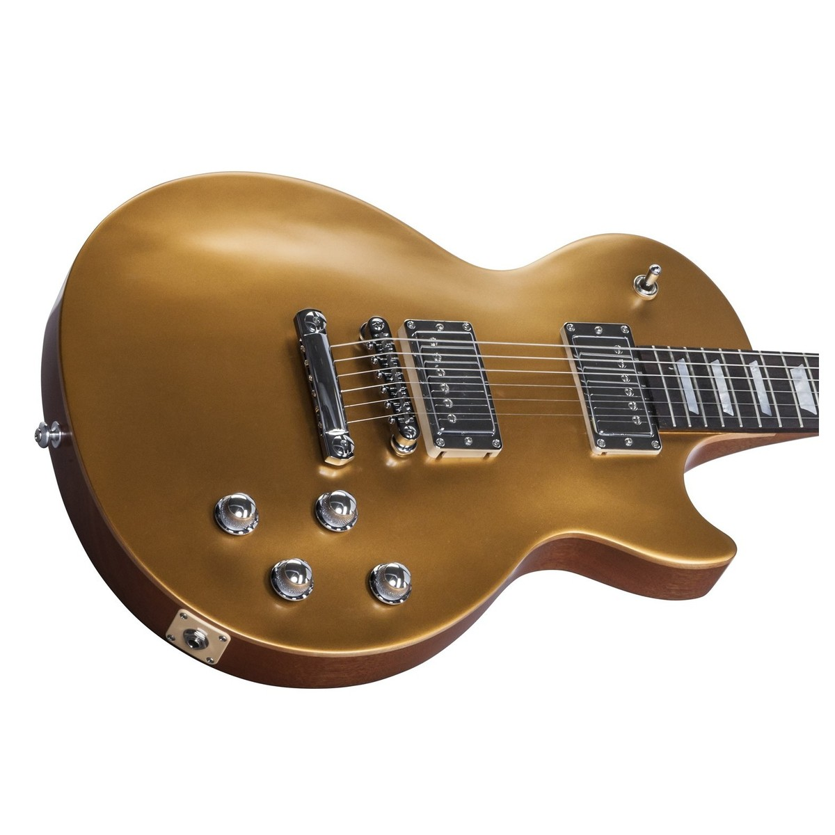 gibson les paul tribute hp electric guitar satin gold top 2017 at gear4music. Black Bedroom Furniture Sets. Home Design Ideas