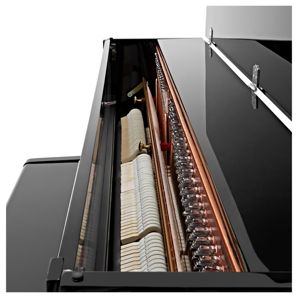 Minster Upright Acoustic Piano, Gloss Black