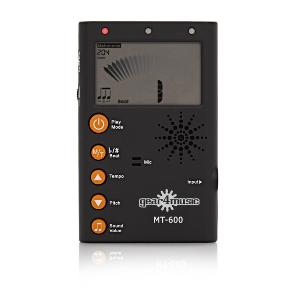 MT-600 Metronome Tuner by Gear4music