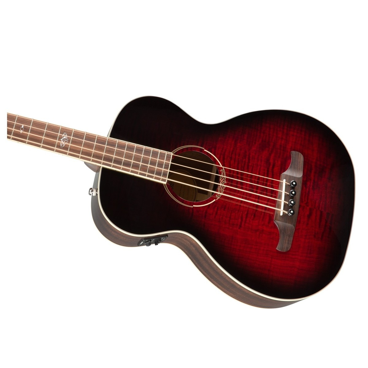 T Bucket Front Fenders : Fender t bucket ce bass guitar trans cherry burst at