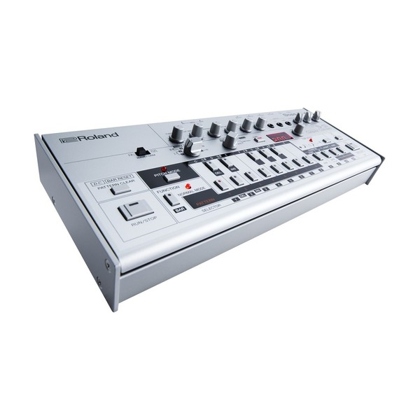 Roland Boutique TB-03 Module with K-25m Keyboard - Synth Angled
