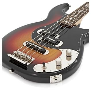 Yamaha BB2024X Bass Guitar, Vintage Sunburst