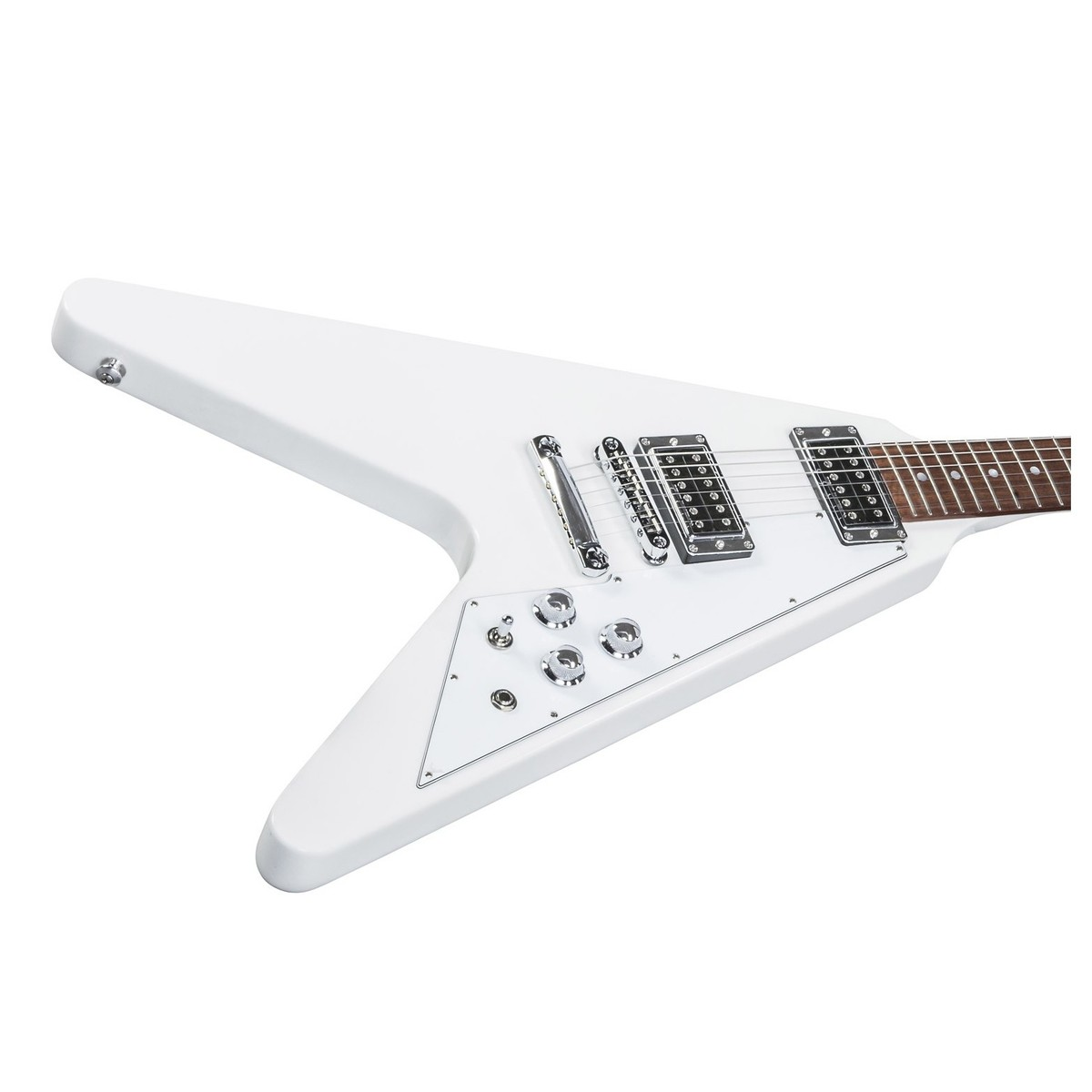 DISC Gibson Flying V HP Electric Guitar, Alpine White (2017)