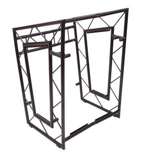 LiteConsole GO! Portable Aluminium Booth, Black