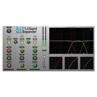 Metric Halo Multiband Expander Plug-In for AAX/Audio Units - Screenshot