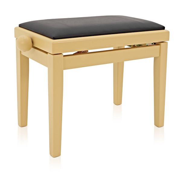 Groovy Adjustable Piano Stool By Gear4Music Light Cherry Box Opened Theyellowbook Wood Chair Design Ideas Theyellowbookinfo