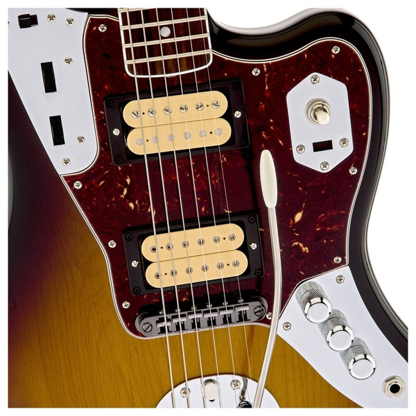 Fender Kurt Cobain Jaguar NOS Electric Guitar, 3-Tone Sunburst