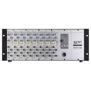 SSL XRack Fitted with 8 Dynamics Modules - Front