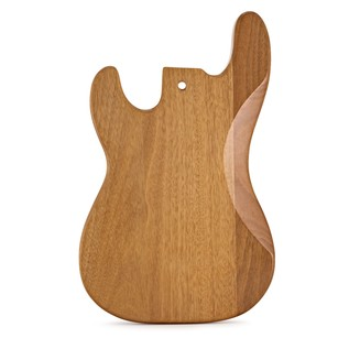 Bass Guitar Body, Natural Mahogany